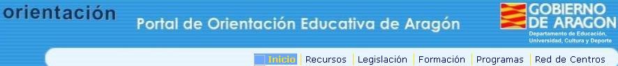 Portal Orientación Educativa de Aragón
